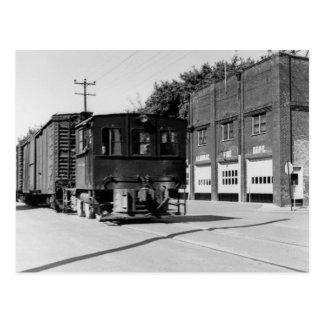 Dieselmotor in Algonac Michigan Briefkaart
