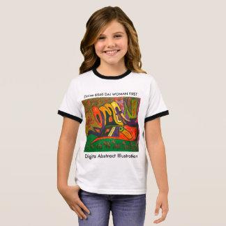 Digitale Abstracte Illustratie DAI C T Shirts