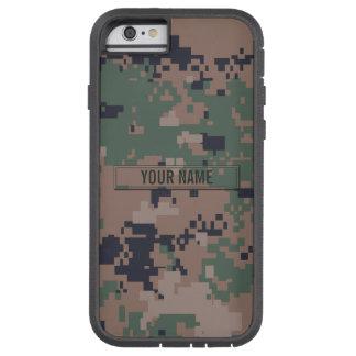 Digitale Bos Klantgerichte Camouflage Tough Xtreme iPhone 6 Hoesje