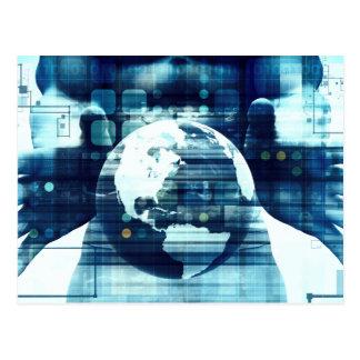 Digitale Industrie van de Levensstijl van de Briefkaart
