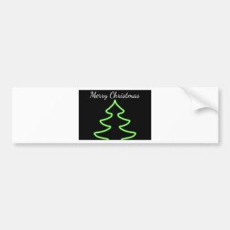 Digitale Kerstboom Bumpersticker