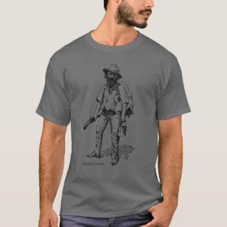 Digitale nomade. Ga blog uitgave T Shirt