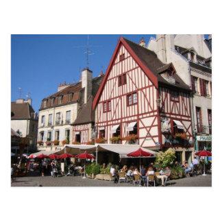 Dijon, de tijd van de Koffie Briefkaart
