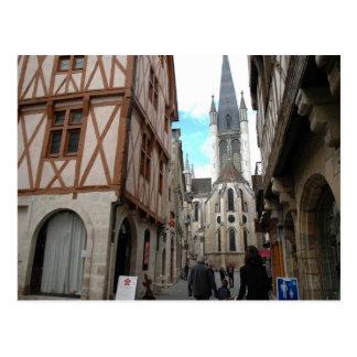 Dijon, Smalle straten Briefkaart