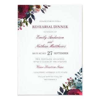 Diner van de Repetitie van het Huwelijk van de Kaart