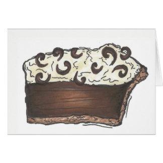 Diner van de Room van de chocolade het Dessert van Kaart