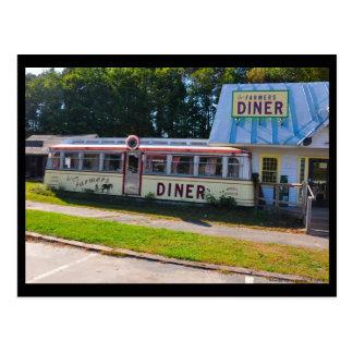 Diner van Vermont - Briefkaart
