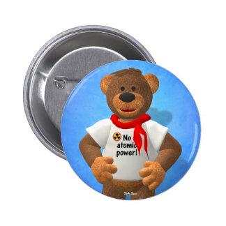 Dinky Beer: Geen atoommacht! Ronde Button 5,7 Cm