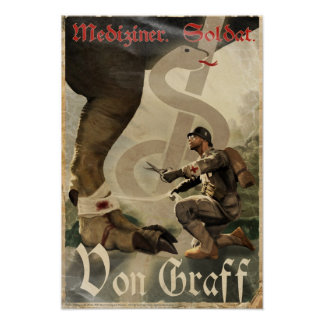 Dino D-Day: Von Graff Poster
