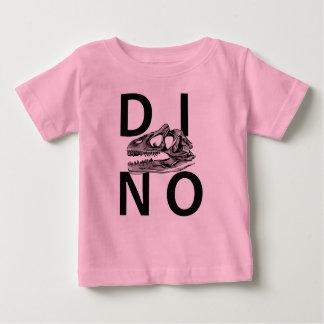DINO - de Roze T-shirt van Jersey van het Baby