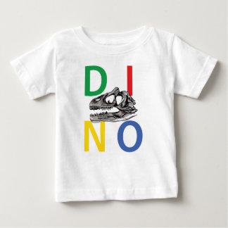 DINO - de Witte T-shirt van Jersey van het Baby