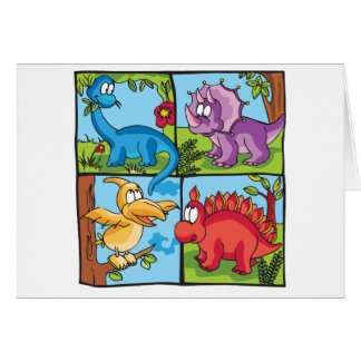 Dino Friends Kaart