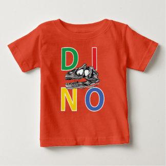 DINO - T-shirt van Jersey van het Oranje Baby de
