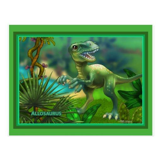 Dinosaurus Wens Kaart