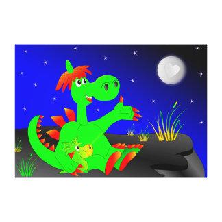 Dinosaurus Canvas Print