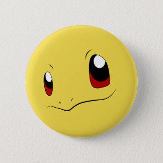 dinosaurus gezicht ronde button 5,7 cm