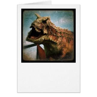 Dinosaurus Wenskaart