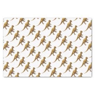 Dinosaurussen 25,4 X 38,1 Cm Tissue Papier