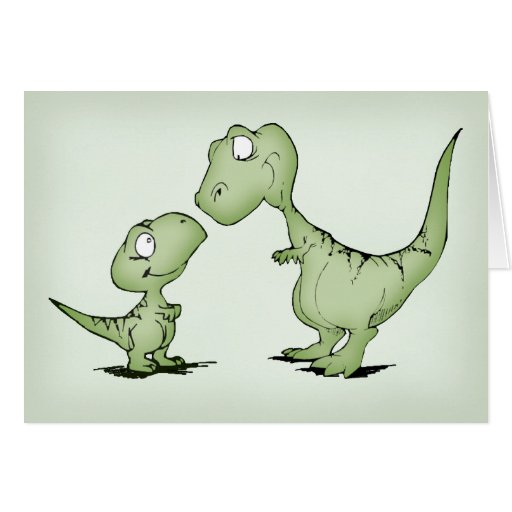 Dinosaurussen Wenskaart