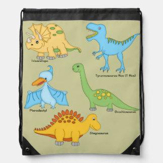 Dinosaurussen Trekkoord Rugzakje