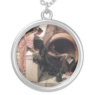 Diogenes Zilver Vergulden Ketting