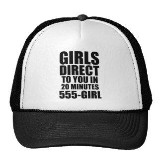 Directe meisjes pet met netje