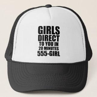 Directe meisjes trucker pet