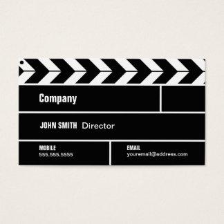 Directeur Clapperboard Film Movie Visitekaartje Visitekaartjes