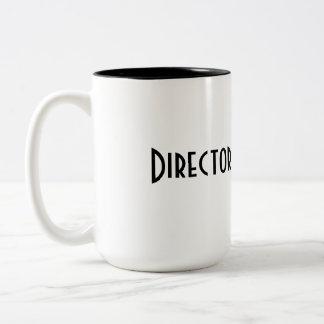 Directeur Mug Tweekleurige Koffiemok