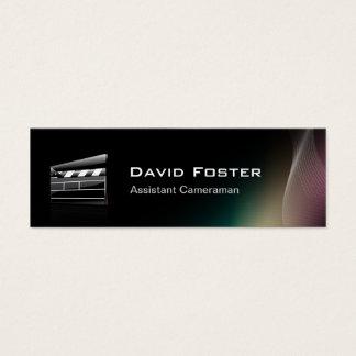 Directeur van de Cameraman van de film de Hulp Mini Visitekaartjes