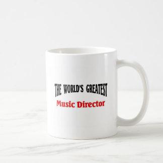 Directeur van de Muziek van de wereld de Grootste Koffiemok