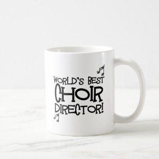 Directeur van het Koor van de wereld de Beste Koffiemok