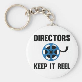 Directeuren Keep It Reel Sleutelhanger
