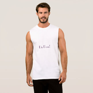 Dis Donc! Sleeveless T-shirt van het Man