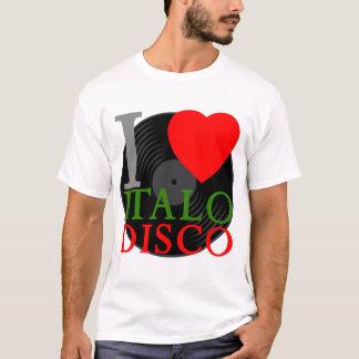 Disco van Italo van de Liefde van de jaren '80 T Shirt
