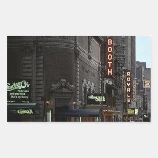 District van het Theater van de sticker NYC het