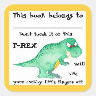DIT BOEK BEHOORT TOT Stickers door Nicole Janes