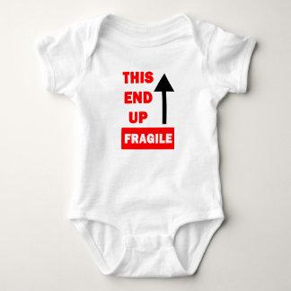 Dit Eind op Bodysuit van het Baby