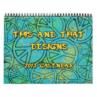 DIT EN DAT ONTWERPT Kalender 2013