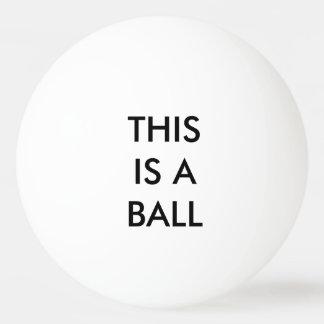 DIT IS een BAL - verklaar Duidelijk Pingpongbal