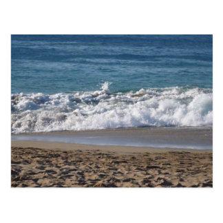 Dit is een foto van mijn favoriet strand tot briefkaart