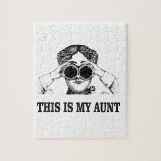 dit is ja mijn tante puzzel