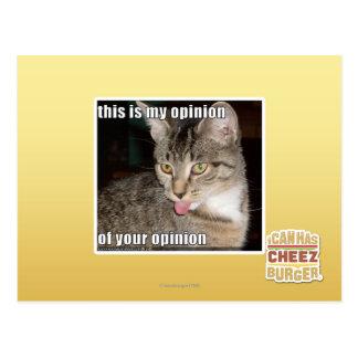 dit is mijn advies briefkaart