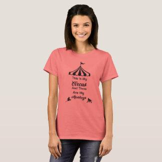 Dit is Mijn Circus en dit zijn Mijn Apen T Shirt