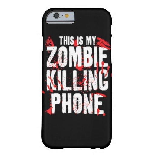 Dit is mijn dodende Telefoon van de Zombie houdt Barely There iPhone 6 Hoesje