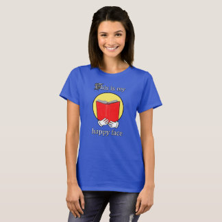 Dit is mijn Gelukkig Gezicht - Emoji lezend een T Shirt