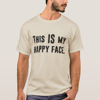 Dit IS mijn Gelukkig Gezicht T Shirt