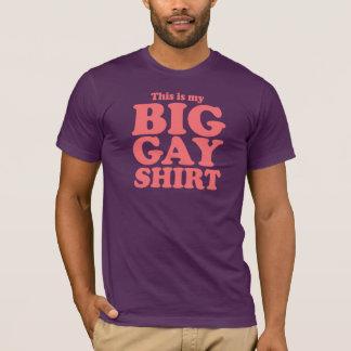 Dit is mijn Groot Vrolijk Overhemd T Shirt