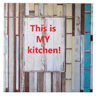 Dit is mijn keuken keramisch tegeltje