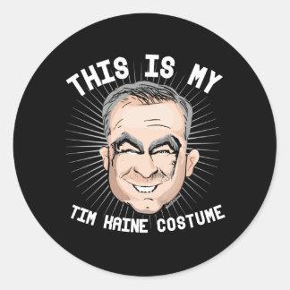 Dit is mijn Kostuum van Tim Kaine - Politiek Ronde Sticker